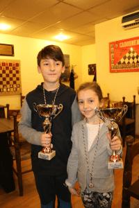 Gabriele ed Emma Fabbrucci vincitori a Roma
