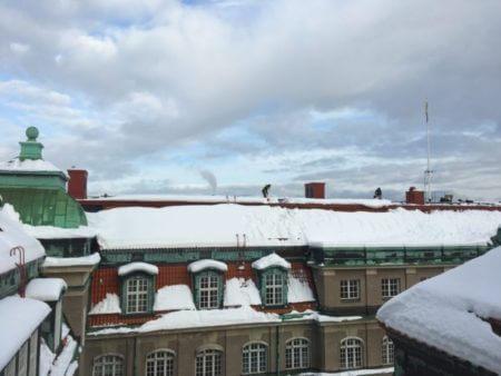 schoonmaken dak stockholm snoras