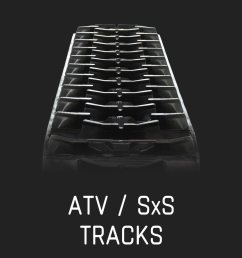 atv sxs tracks  [ 1080 x 1080 Pixel ]