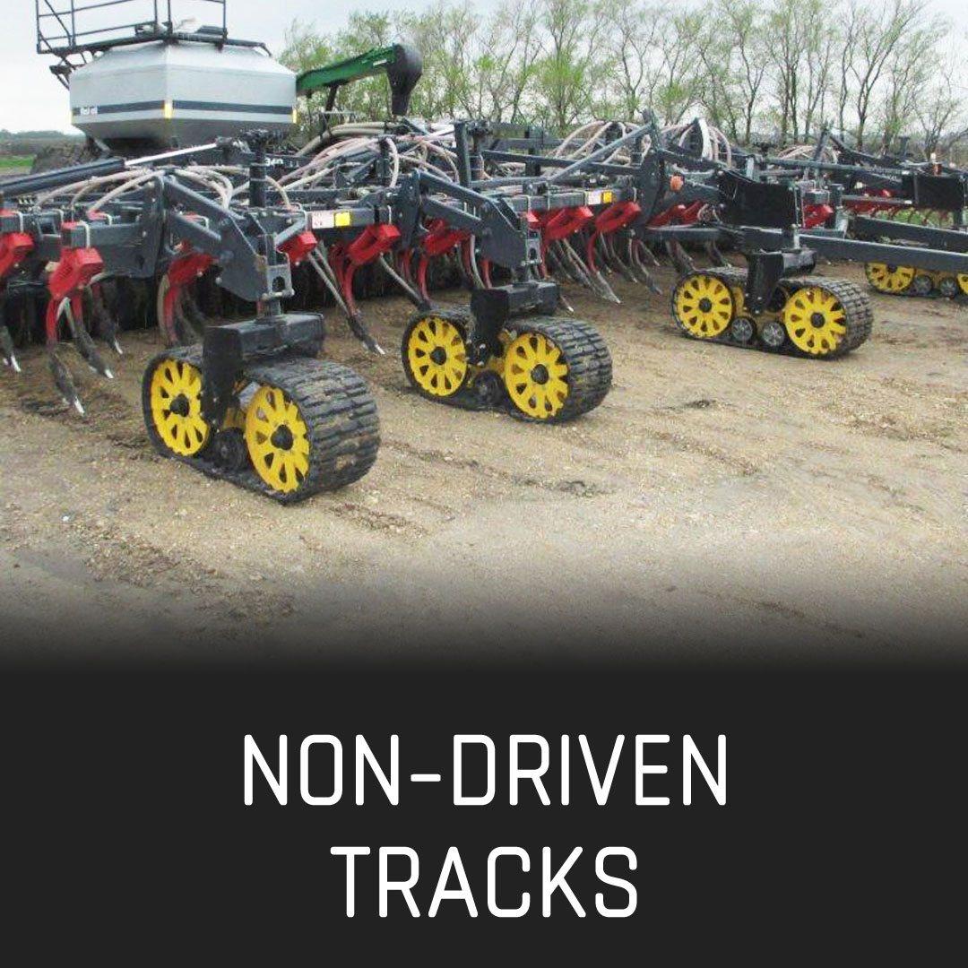 hight resolution of non driven tracks non driven tracks