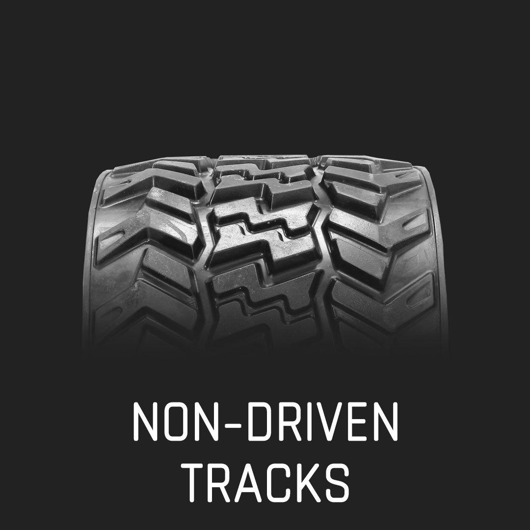 hight resolution of non driven tracks