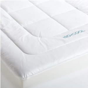 Iso Cool Memory Foam Mattress Pad With Outlast Cover