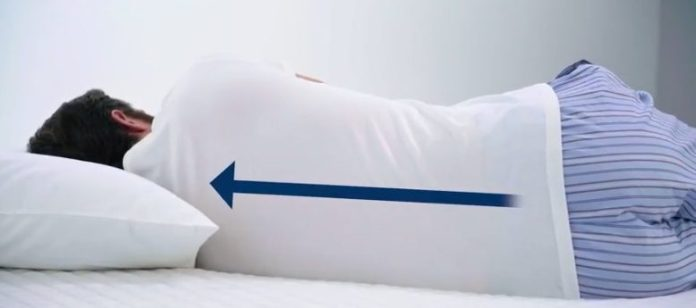 Mattress spine alignment test