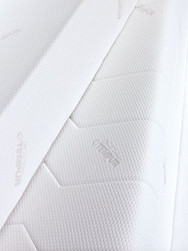 Tempur Sensation Breeze 27 Colchón con doble jersey funda, 90x200x27