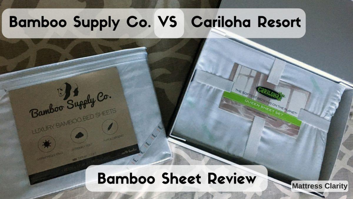 Bamboo Bed Sheets Bamboo Supply Co VS Cariloha Resort