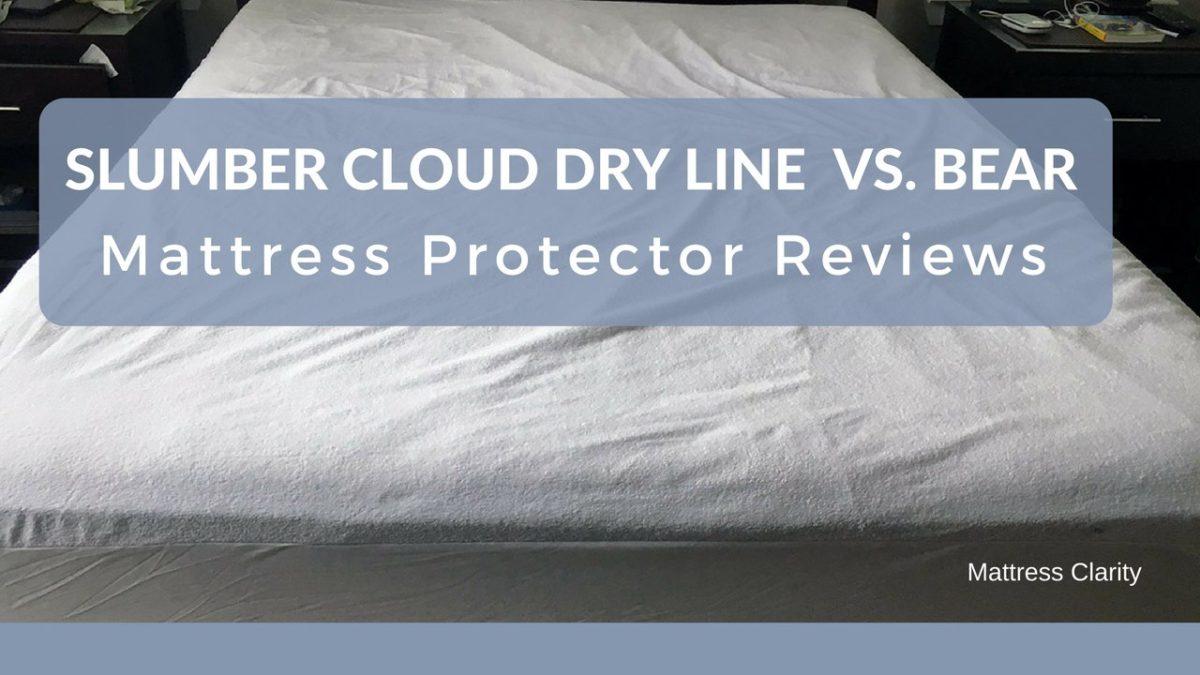 Mattress Protector Slumber Cloud Dry Line VS Bear