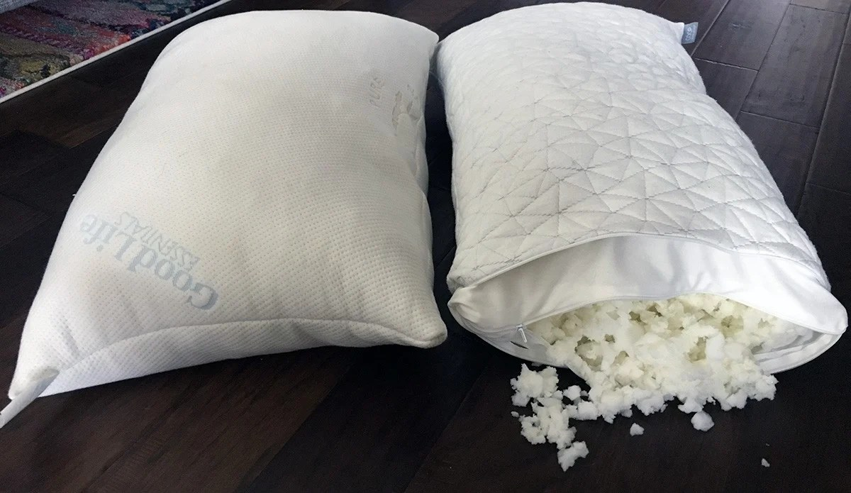 pillow reviews good life essentials vs