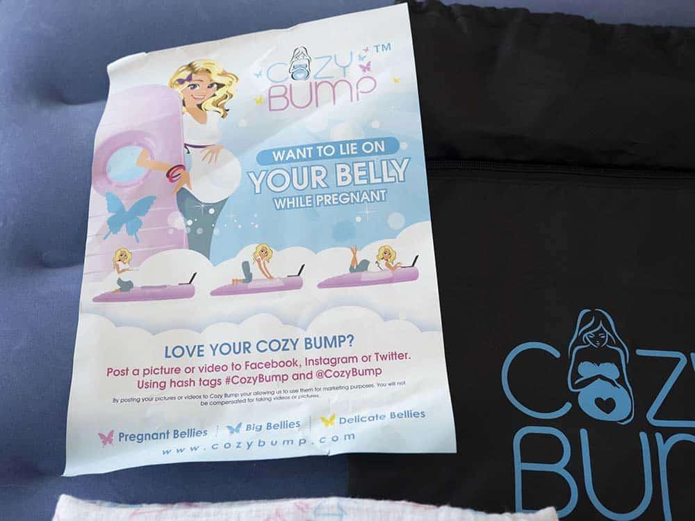 cozy bump pregnancy pillow review