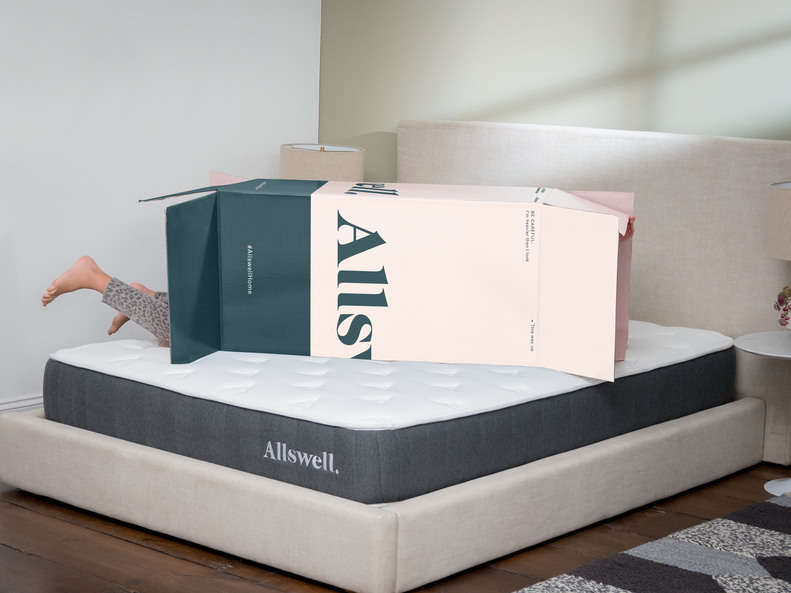 Allswell Debuts New LowCost Hybrid Mattress