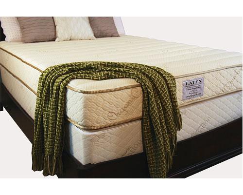 7 Sleep Ez Usa Roma Natural Latex Mattress 2 In 1 Comfort Technology Queen