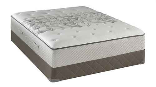 king sealy posturepedic tight top plush mattress set