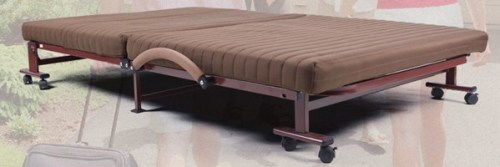 LUCID Rollaway Guest Bed with a Memory Foam Mattress