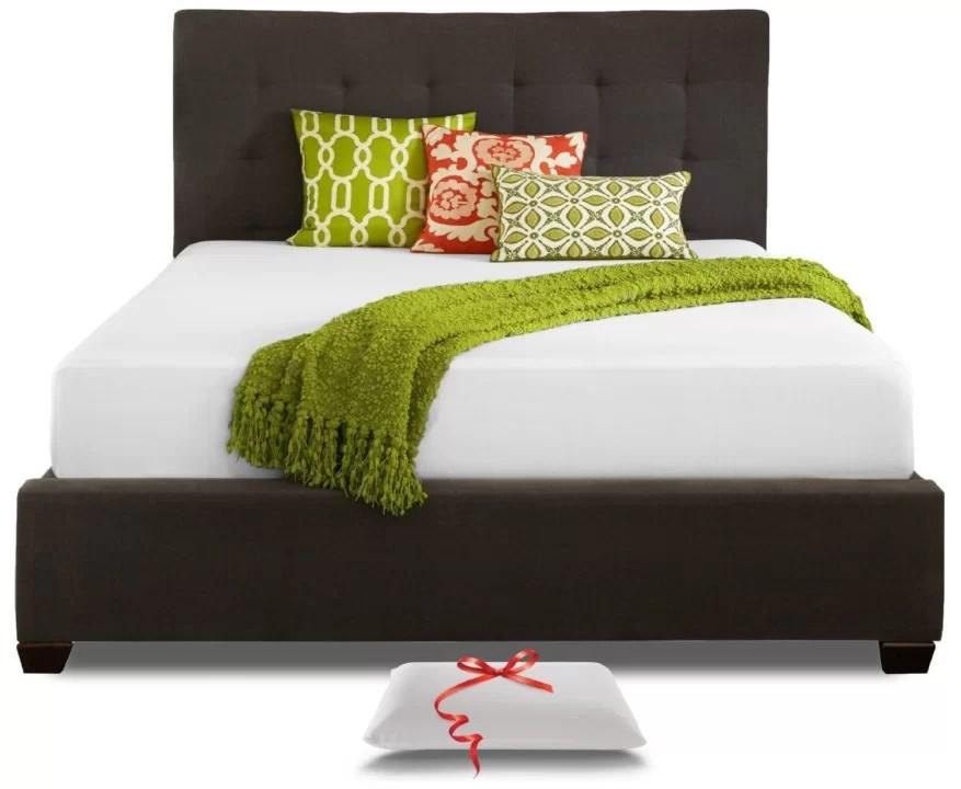 resort sleep queen size 10-inch cool memory foam mattress review