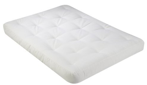 serta chestnut duct cotton futon mattress