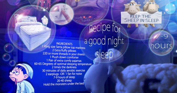Recipe for a Good Night Sleep  Affordable Mattress and