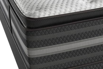 simmons beautyrest black katarina plush pillow top mattress