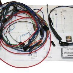 67 Camaro Wiring Harness Diagram Audi 100 C4 68 Classic Update 500661