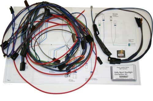 small resolution of original 68 camaro wiring harness complete wiring diagram paper 68 chevy tail light