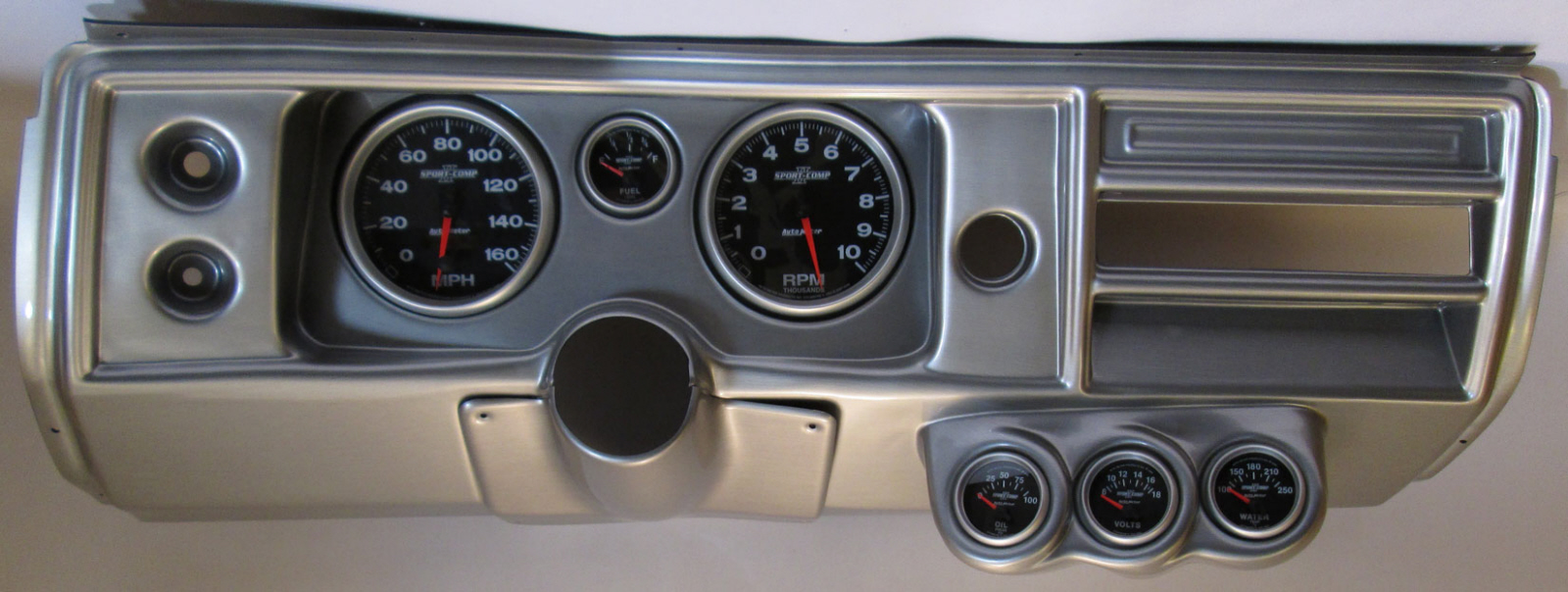 Autometer Sport Comp Ii Electric Oil Pressure Gauge 0163653 Free