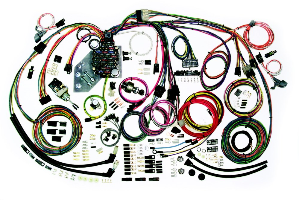 medium resolution of wiring harness kits by american autowire1951 chevy truck wiring harness 17