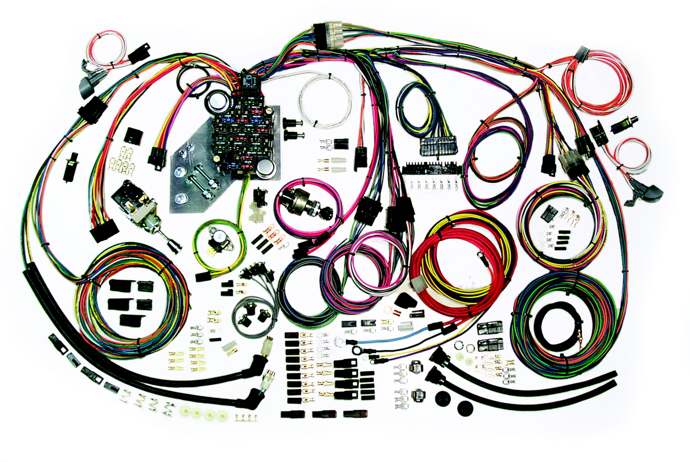 hight resolution of wiring harness kits by american autowire1951 chevy truck wiring harness 17