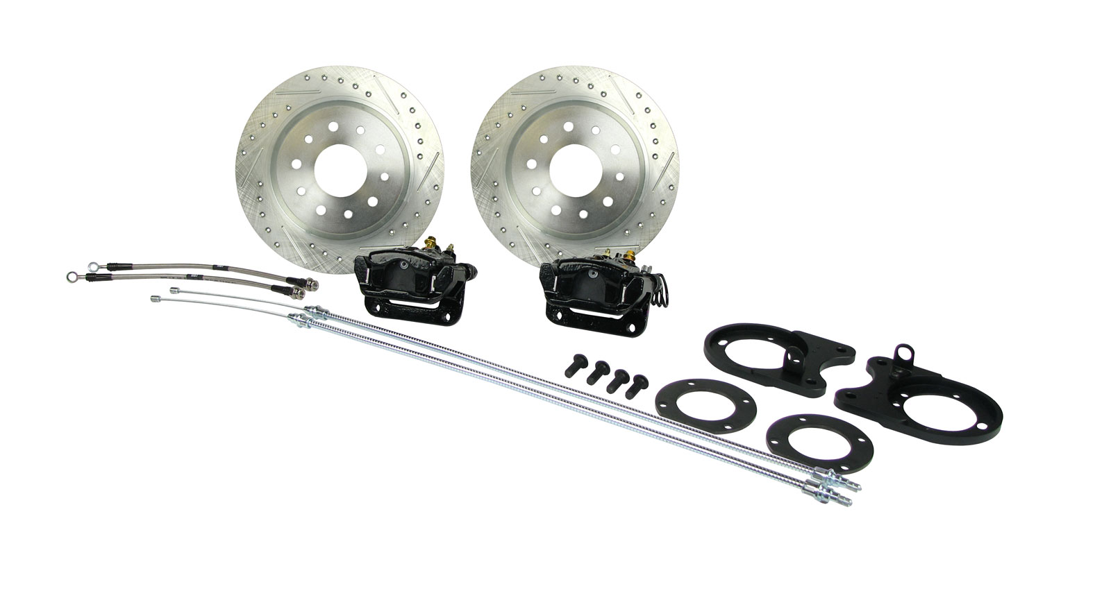 GM A / F / X Body 4 Wheel Big Manual Disc Brake Kit
