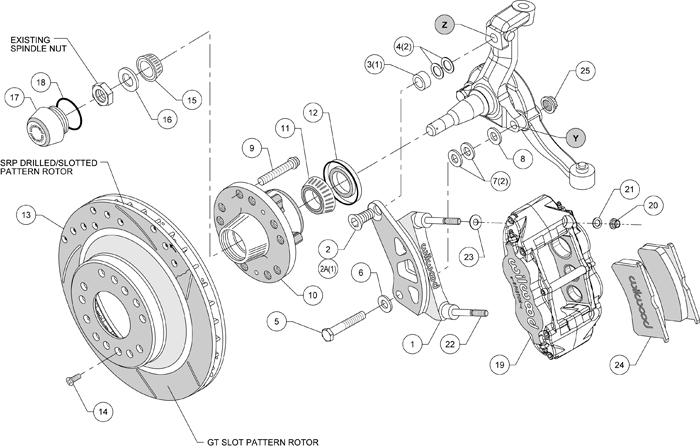 Service manual [1973 Chevrolet Corvette Front Brake Rotor