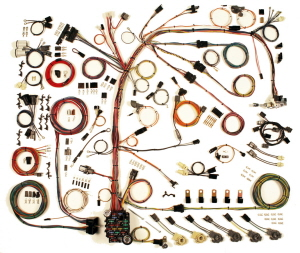 American Autowire Factory Fit Wiring Harness Kits