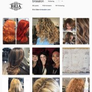 BRIA Salon Instagram Page