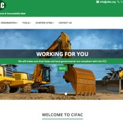 CIFAC Website Homepage