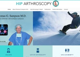 Hip Arthroscopy New Homepage
