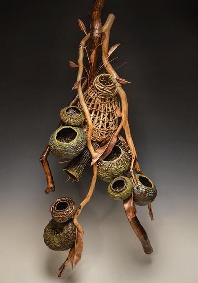 Modern Rustic Contemporary Decor Baskets  Matt Tommey