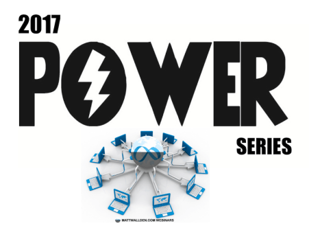 Power Series Webinars