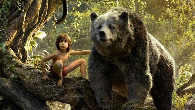 Neel Sethi in Disney's The Jungle Book