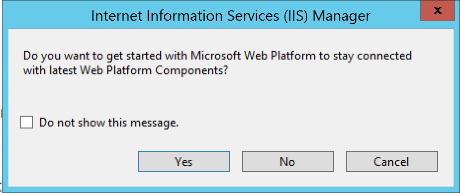 Running a Django Application on Windows Server 2012 with IIS