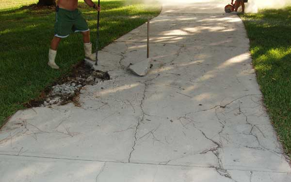 Driveways for all just another site for Temperature to pour concrete driveway