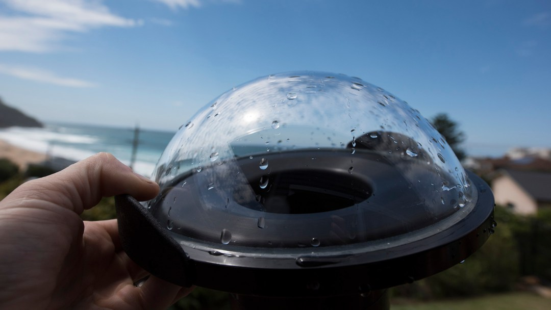 How to stop water drops on your dome port | Over/Under Photos