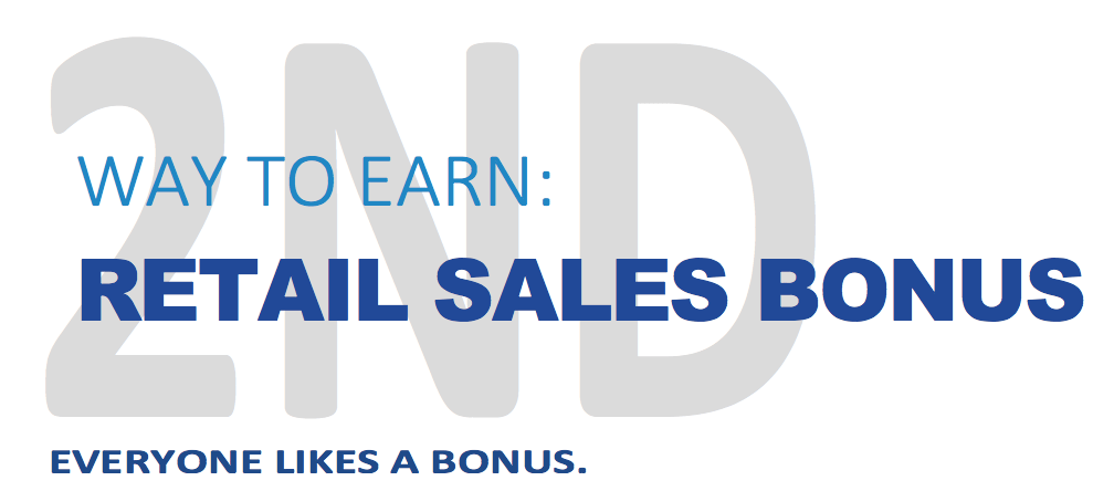 Jeunesse Global Retail Sales Bonus