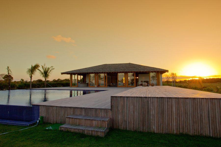 Carrossel aluguel de casas de luxo Villa12 em Trancoso Bahia 11