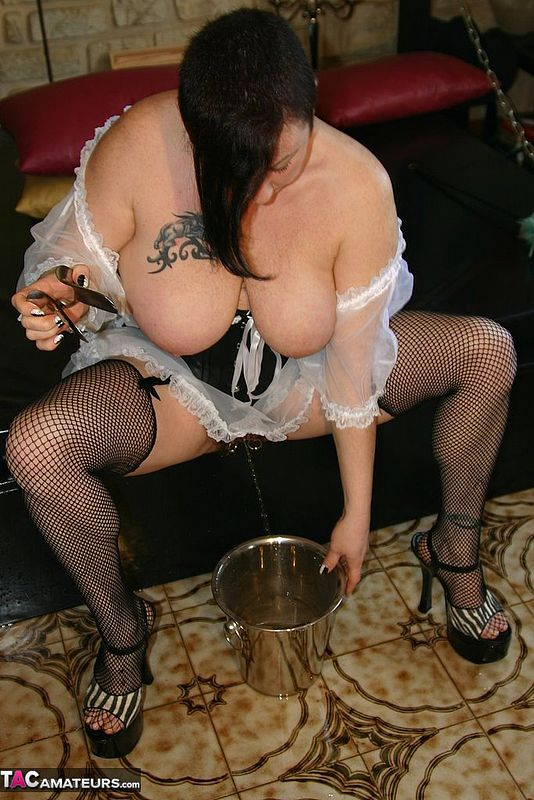 MaryBitchFrench Maid  Hairy Pussy Pt2 Pictures