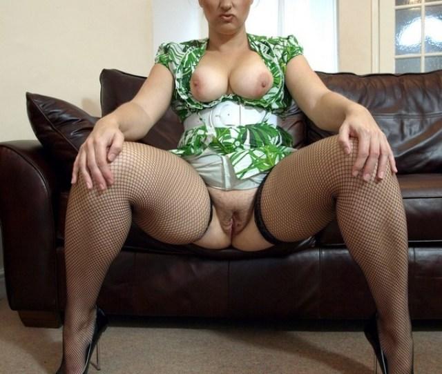 Amateur British Milf Mature In Stockings