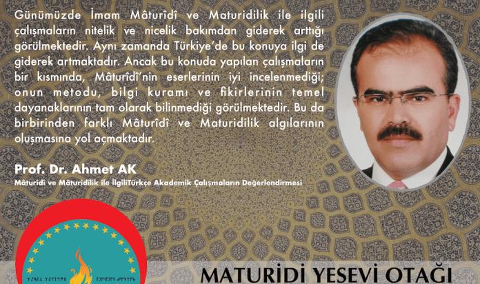 Mâturîdî ve Mâturidîlik ile İlgili Türkçe Akademik Çalışmaların Değerlendirmesi