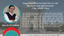 İmam Maturidi'nin Tevilatül-Kuran'ında Akıl Yürütme İle İlgili Kavramlar