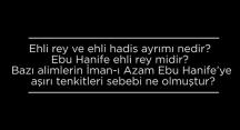 Ebu Hanife tarihteki birçok alim tarafından neden din dışı ilan edilmiştir? | Prof. Dr. Hasan Onat