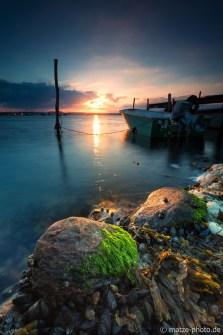 Hejlsminde-Hafen-Sunset