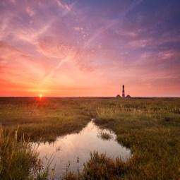 Westerheversand-Sonnenaufgang