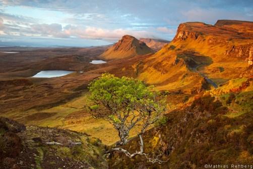 Quiraing-Schottland-Sonnenaufgang
