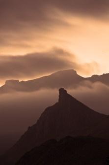 Teneriffa-Wolken-Langzeitbelichtung