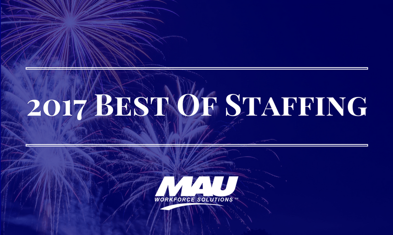 MAU Wins Inavero's Best of Staffing Client Award for Second Time!
