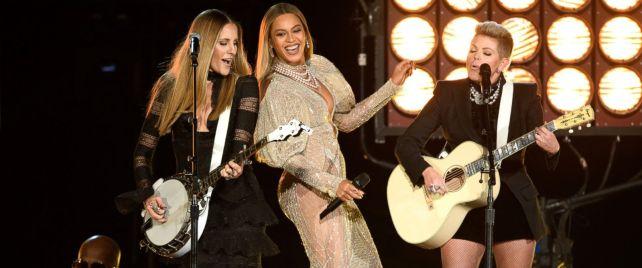 Apresentação Beyonce e Dixie Chicks